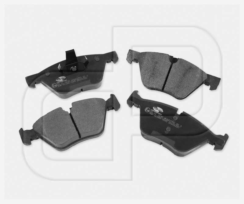 BMW Bremsbeläge Bremsklötze vorneVorderachse mit E-Prüfzeichen