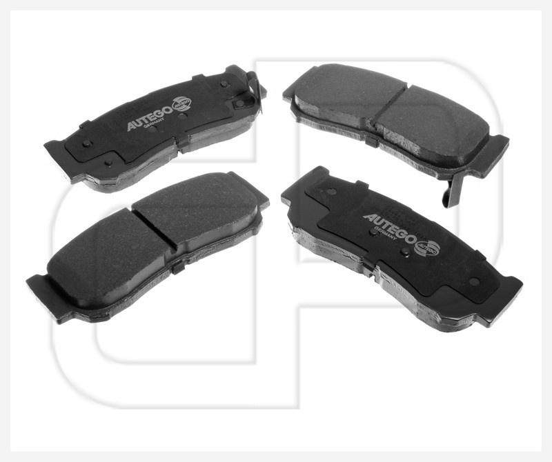 BB.8227 Bremsbelagsatz Brake pads Hinterachse  Hyundai Santa