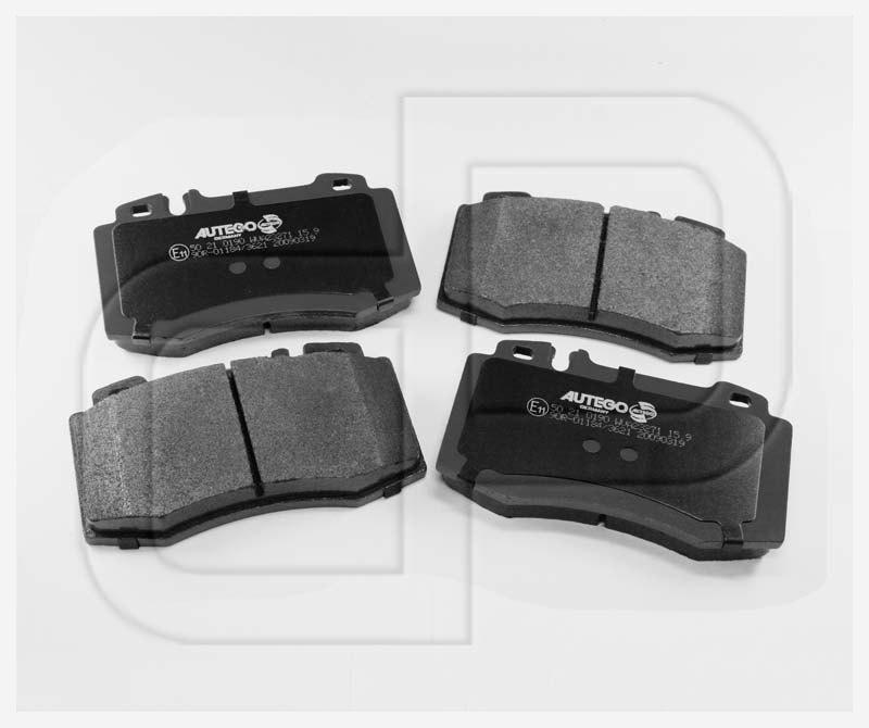Mercedes S Klasse W220 Bremsbeläge Bremsklötze Sensoren für vorne hinten*