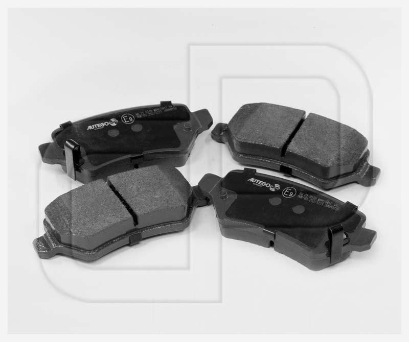 Bremsbeläge Bremsklötze Toyota Corolla IQ Prius Yaris MR2 vorne | Vorderachse
